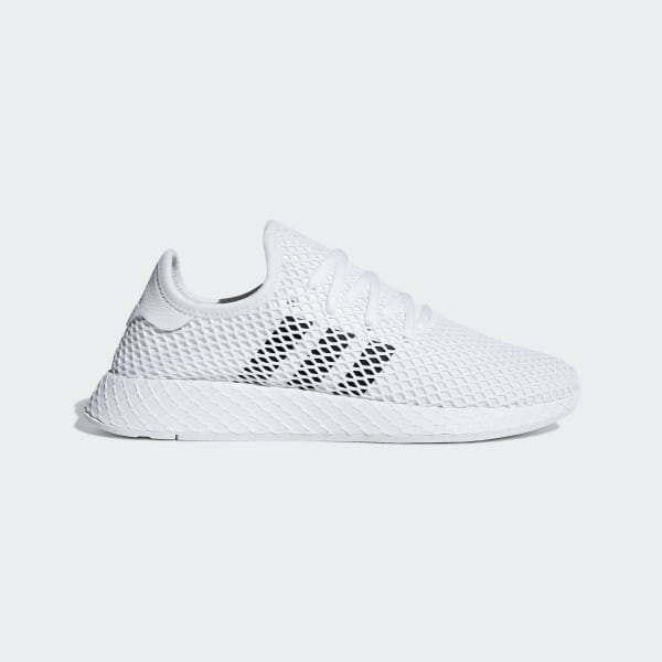 adidas Deerupt Runner Shoes - White | adidas US