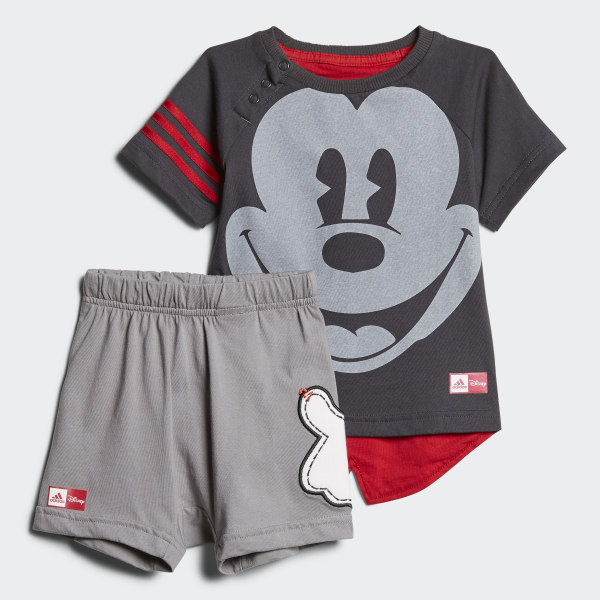 8e2082b78 Conjunto de Verano Disney Mickey Mouse UTILITY BLACK F16 SCARLET  GREY  THREE F17