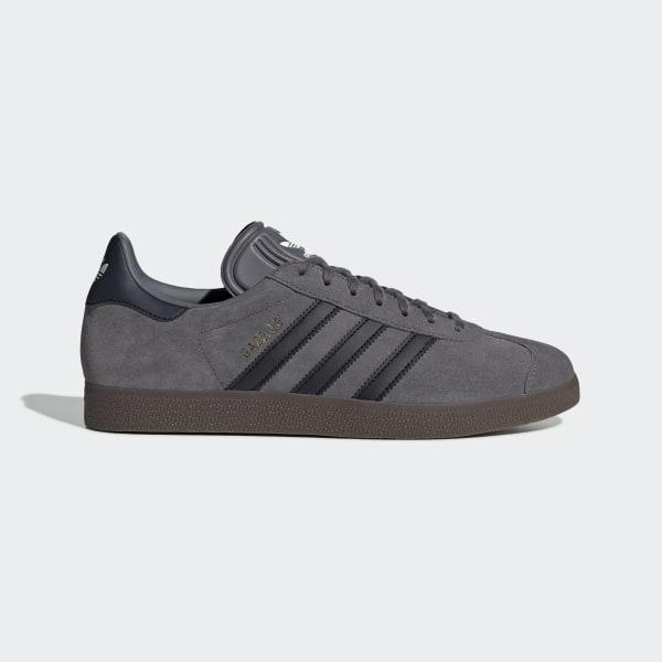 sports shoes 84a76 ae806 Gazelle Shoes Grey Four   Core Black   Gum5 EE8943