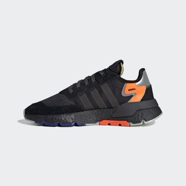 timeless design 9ea42 b95fb Nite Jogger Shoes Core Black   Carbon   Active Blue CG7088