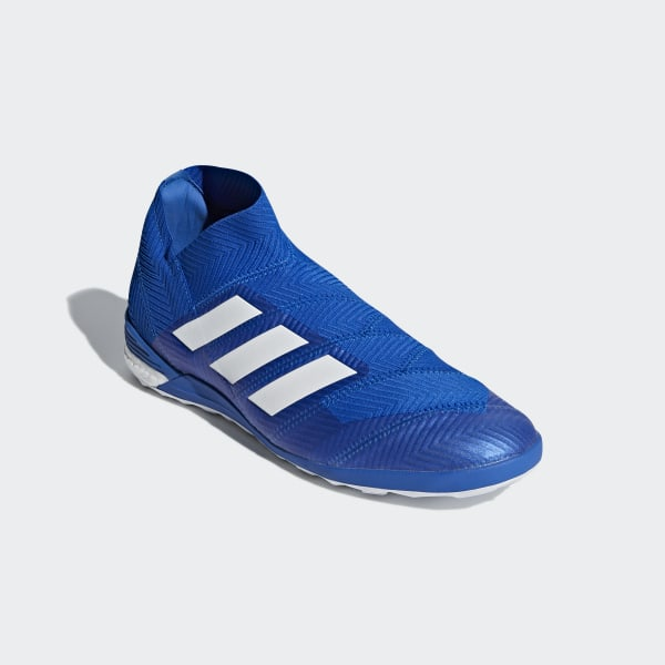 c5624354922 Nemeziz Tango 18+ Indoor Boots Football Blue   Ftwr White   Football Blue  DB2473