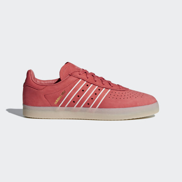 superior quality 13eac 907b1 Oyster Holdings adidas 350 Shoes Trace Scarlet   Chalk White   Gold Metallic  DB1975