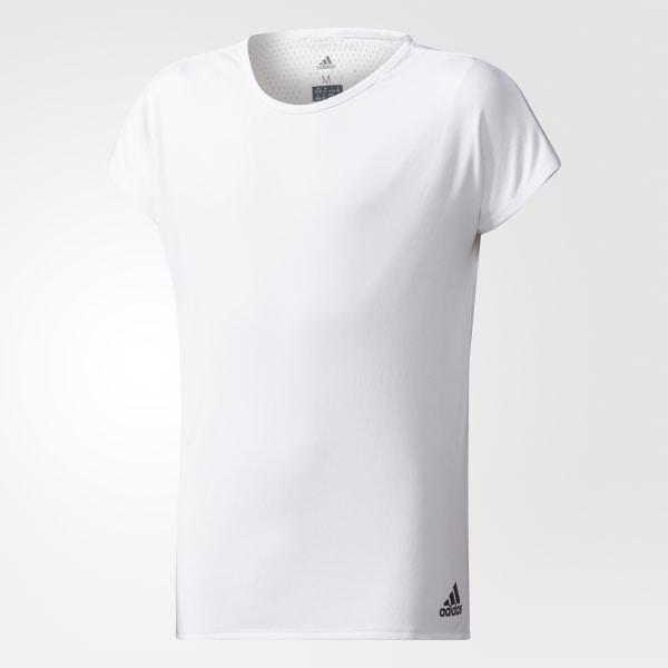 168ba326 adidas T-skjorte for trening - Hvit | adidas Norway