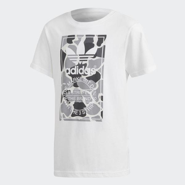 8f2df165 adidas Camo Trefoil Tee - White | adidas US