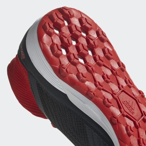 9b12e45b0 Predator Tango 18.3 Turf Boots Core Black   Ftwr White   Solar Red DB2135