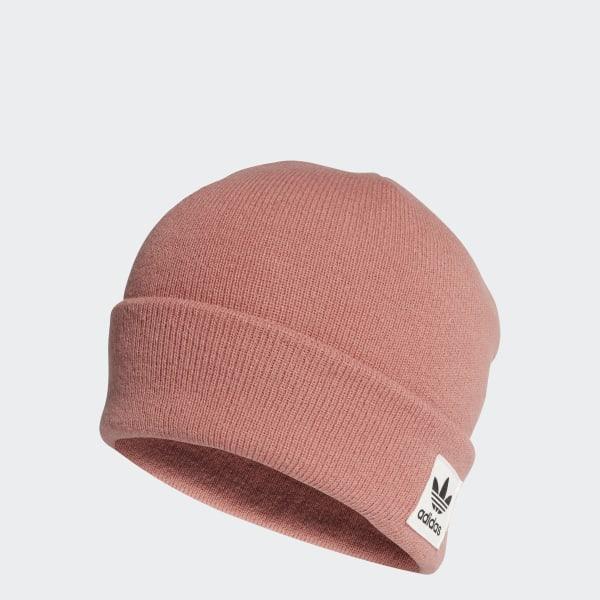 ec4b37c9b adidas Logo Beanie - Pink | adidas US