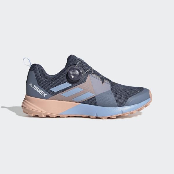 online retailer best shoes good texture adidas Terrex Two Boa Shoes - Blue   adidas Belgium
