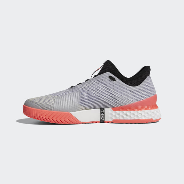competitive price 02d42 a9014 Adizero Ubersonic 3.0 Shoes Grey   Core Black   Flash Red CP8853