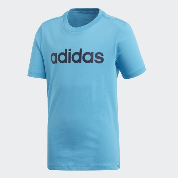 adidas Essentials Linear Logo T Shirt Black | adidas Ireland