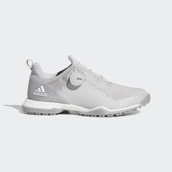 65624bec34c Forgefiber Boa Shoes Grey Two / Cloud White / Silver Metallic BB7850