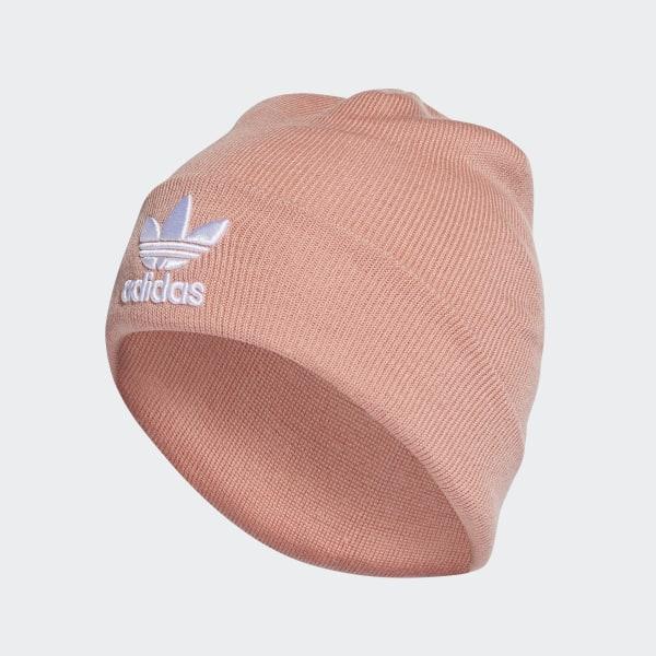 d1fad0399 adidas Trefoil Beanie - Pink   adidas UK