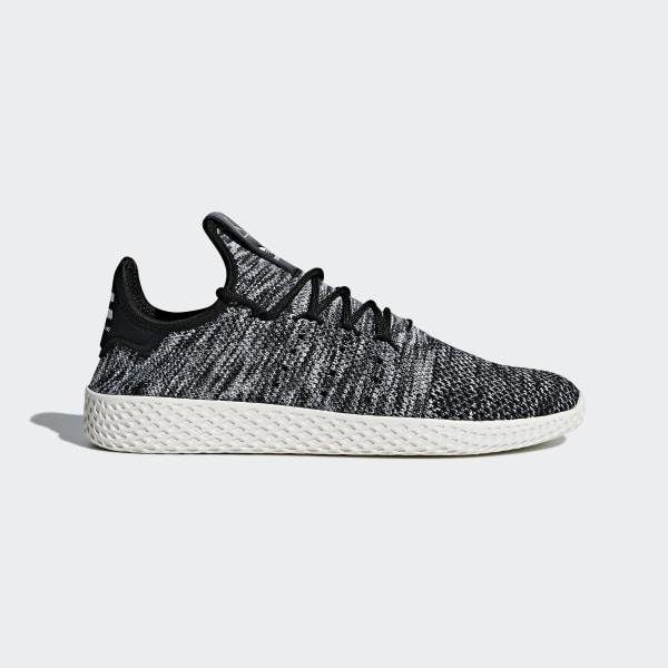 competitive price 89756 31b99 Pharrell Williams Tennis Hu Primeknit Shoes Chalk White   Core Black    Cloud White CQ2630