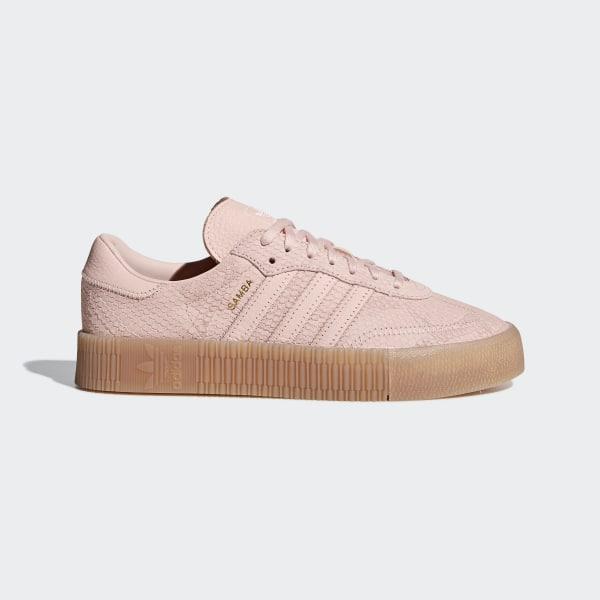 Adidas Schuhe Outlet Adidas Originals SAMBAROSE Damen Grau