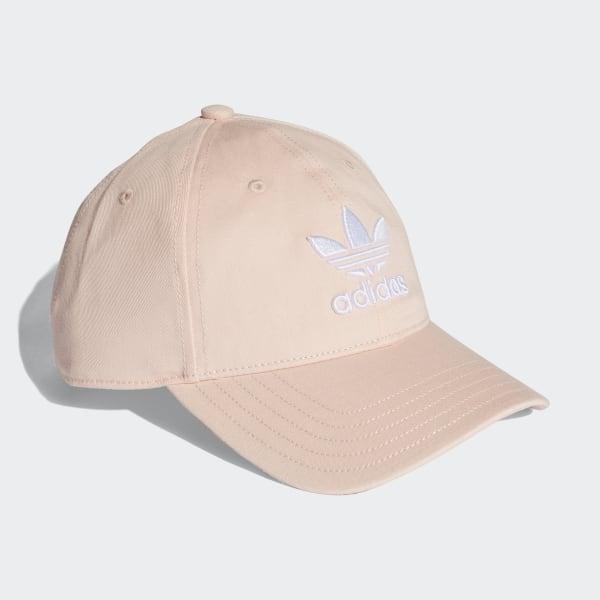 45b6afa246432 Trefoil Classic Cap Blush Pink   White CV8143