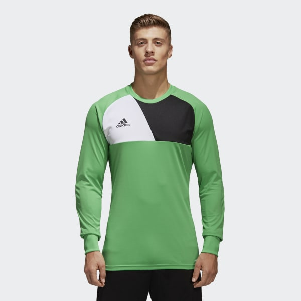 9b37fac5a adidas Assita 17 Goalkeeper Jersey - Green | adidas Australia