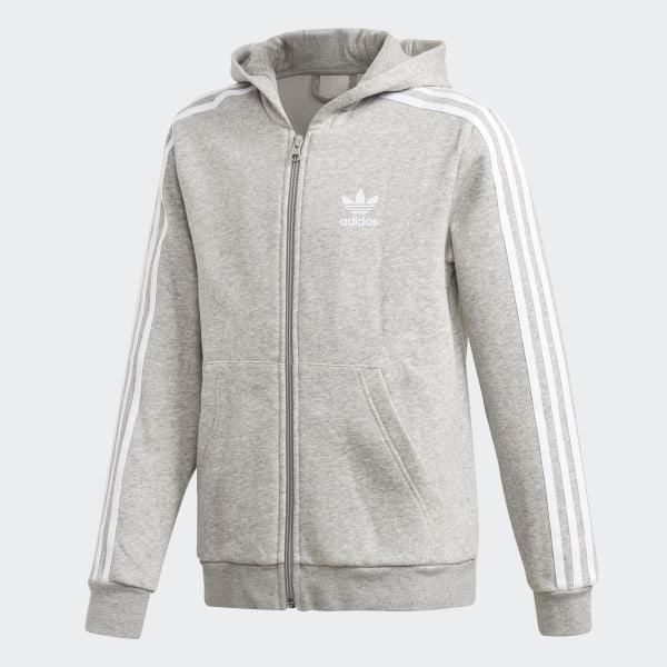 b4450c67 Full Zip Hoodie Medium Grey Heather / White DH2702