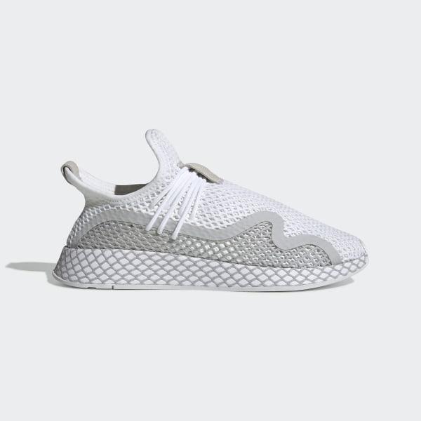 ae9a26dd9bd1a2 adidas Sapatos Deerupt S Runner - Branco | adidas MLT