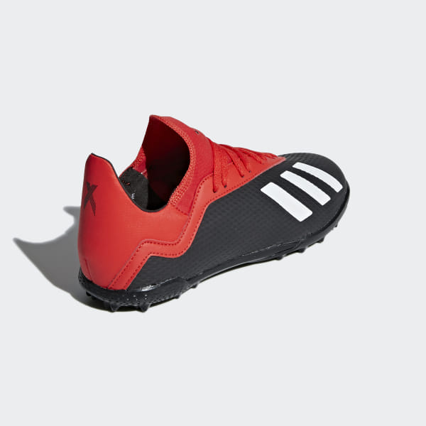 104719f51 X Tango 18.3 Turf Shoes Core Black / Off White / Active Red BB9402