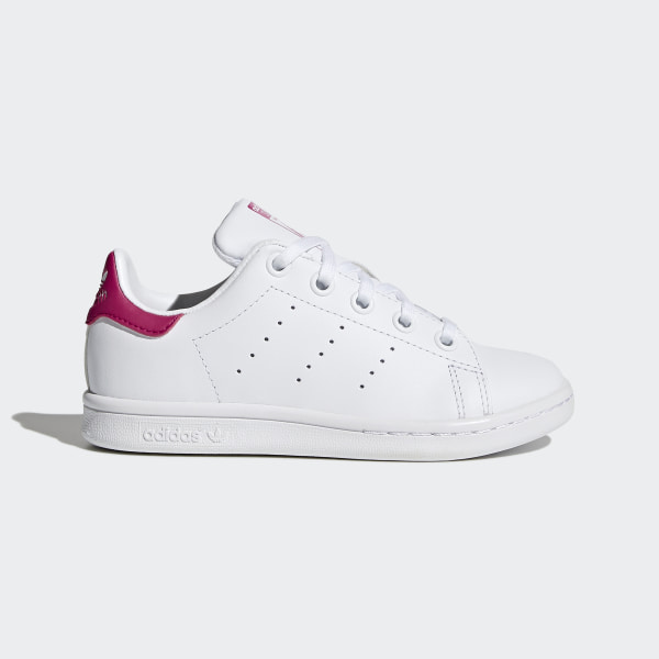 b2febf4b1 Zapatilla Stan Smith Footwear White   Bold Pink   Bold Pink BA8377
