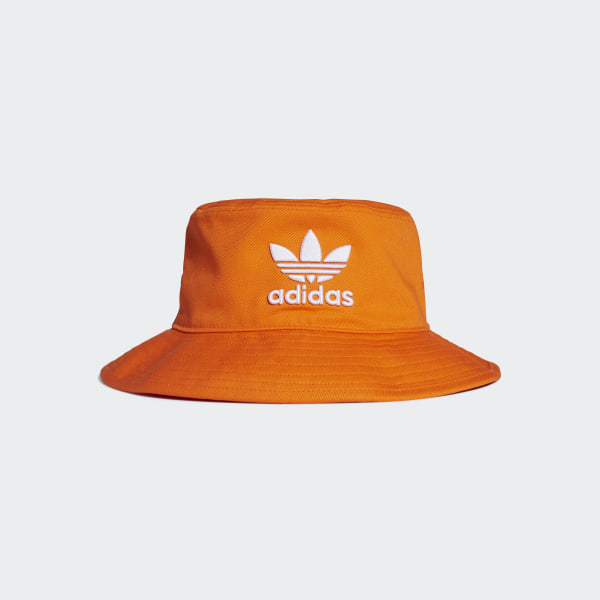 7a8659eee77fc4 adidas Adicolor Bucket Hat - Orange | adidas US