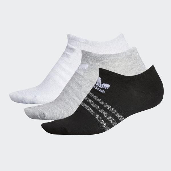 9546f910f4 adidas Lurex No-Show Socks 3 Pairs - Multicolor   adidas US