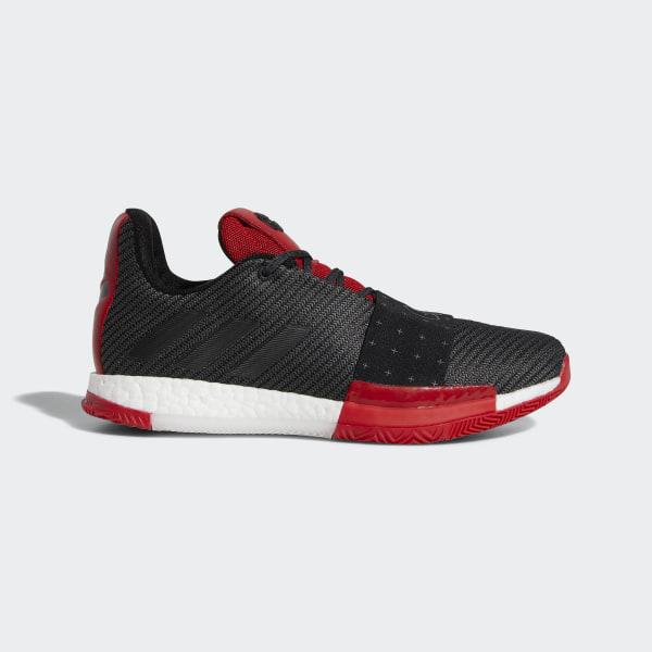 4203bedbd67 Harden Vol. 3 Shoes Core Black   Grey   Scarlet AQ0034
