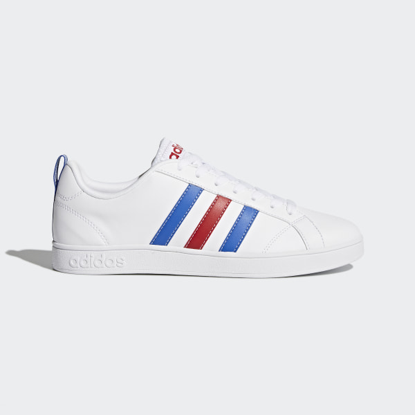 info for b4603 0a8ad VS Advantage Shoes White   Blue   Power Red F99255