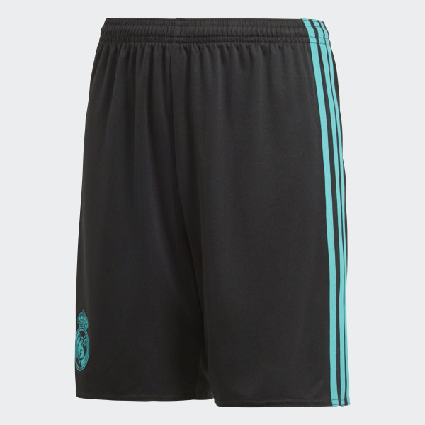 d1ae70d5e0d Real Madrid Away Shorts Black   Aero Reef B31119