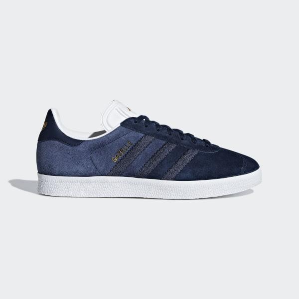 3a469d50036 Gazelle Shoes Collegiate Navy / Collegiate Navy / Cloud White CG6058