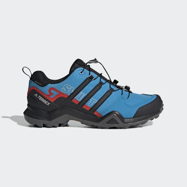 ed099fe7 Buty TERREX Swift R GTX Shoes Shock Cyan / Core Black / Active Red G28411