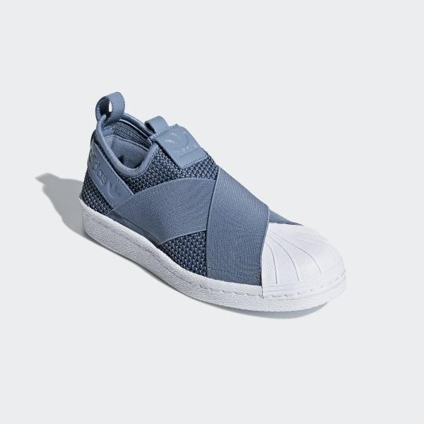 quality design cd1cd f6aad adidas Superstar Slip-on Shoes - Blue | adidas US