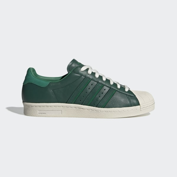 los angeles 60b82 24b1a Superstar 80s Shoes Collegiate Green   Bold Green   Off White BD7368