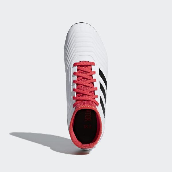 3d59b4356ff adidas Predator 18.3 Artificial Grass Boots - White | adidas UK