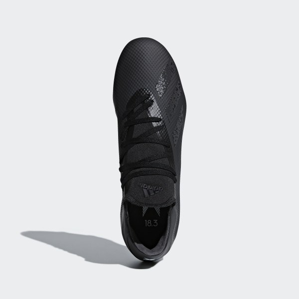 7232651b56f adidas X 18.3 Firm Ground Boots - Black | adidas UK