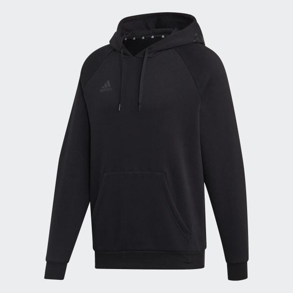 adidas TAN Hooded Sweatshirt Black | adidas US