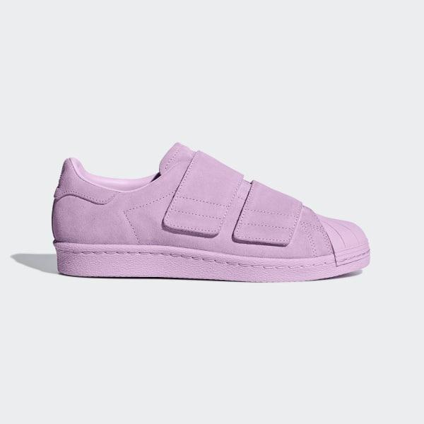 5e1065cdb2aa1 Superstar 80s CF Shoes Clear Lilac   Clear Lilac   Clear Lilac B28043