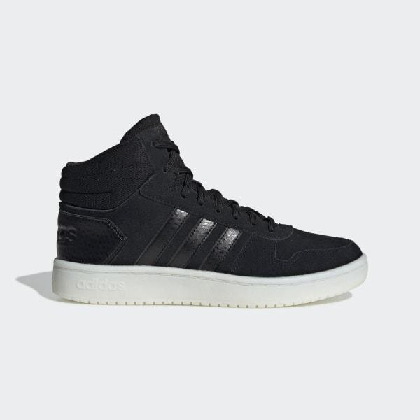 adidas Sapatos Hoops 2.0 Mid Preto   adidas MLT