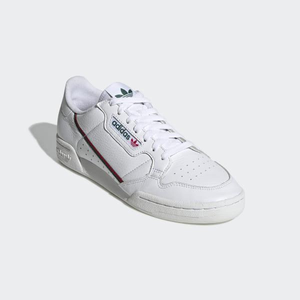 zapatillas adidas continental hombres cortos