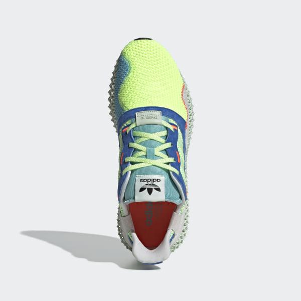 3a4821014ff39 adidas ZX 4000 4D Shoes - Yellow | adidas Australia