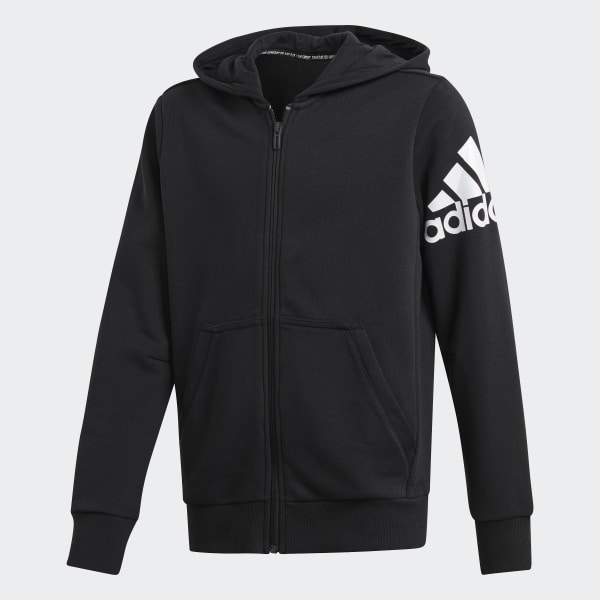 1e751cb569a39a adidas Must Haves Badge of Sport Jacket - Black | adidas UK