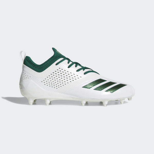 a18544a8659 Adizero 5-Star 7.0 Cleats Cloud White   Dark Green   Dark Green DA9551
