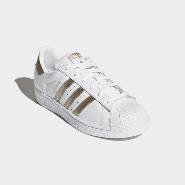 en soldes b5ce8 660b1 adidas Superstar Shoes - White | adidas US