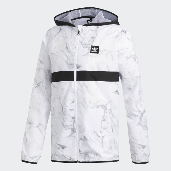 3084e69dc0 adidas Marble BB Packable Wind Jacket - White | adidas US
