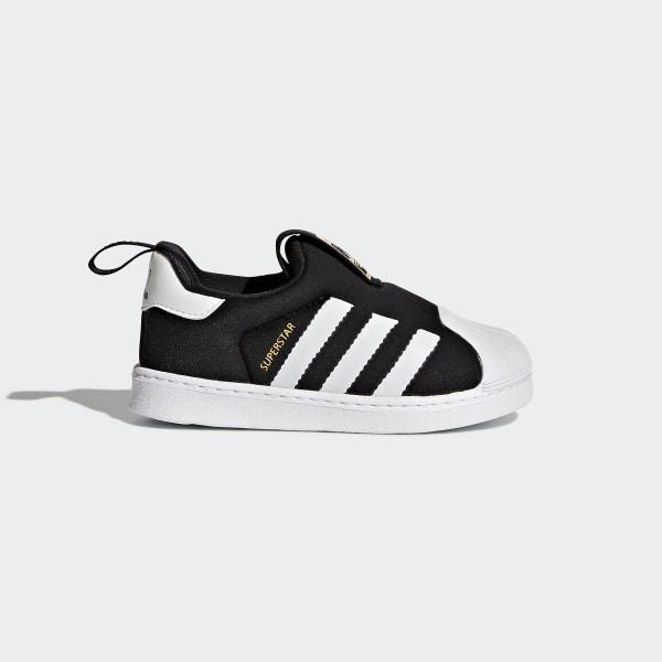 c7d0a35a1 Tenisky Superstar 360 Core Black / Footwear White / Cloud White S82711