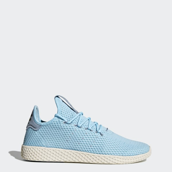 new concept 974c7 161b2 Pharrell Williams Tennis Hu Shoes Icey Blue   Ice Blue   Tactile Blue CP9764