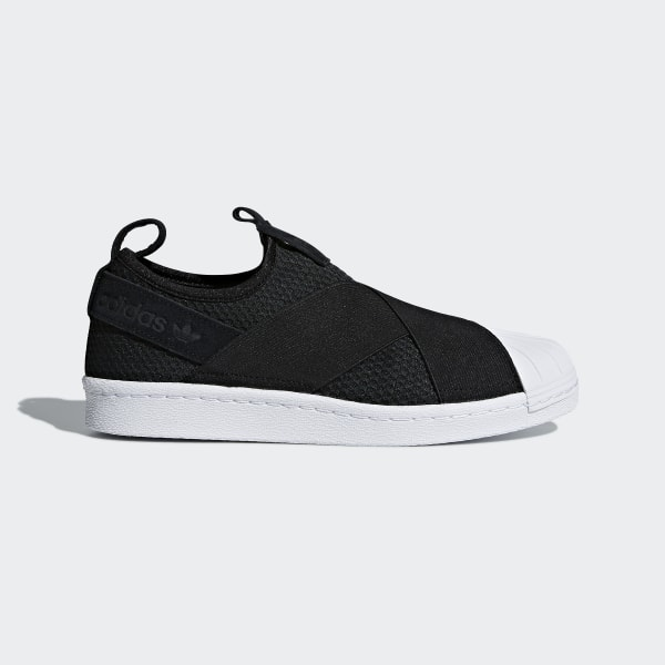 adidas Superstar Slip-on Shoes - Black | adidas US