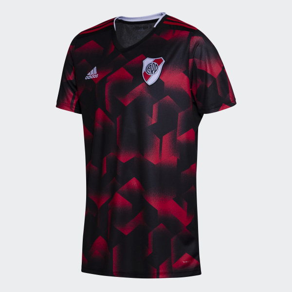 7b551f858 Tercera Camiseta Club Atlético River Plate black   collegiate red DP2822