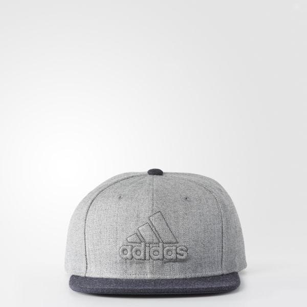 8a6581d1d5aae Daybreaker Snap-Back Hat Light Grey BA2493