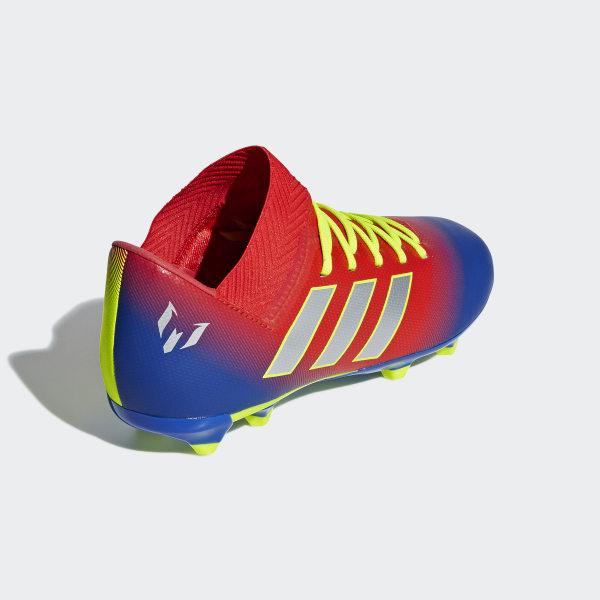 a1debc7e Nemeziz Messi 18.3 Firm Ground sko Active Red / Silver Met. / Football Blue  CM8627