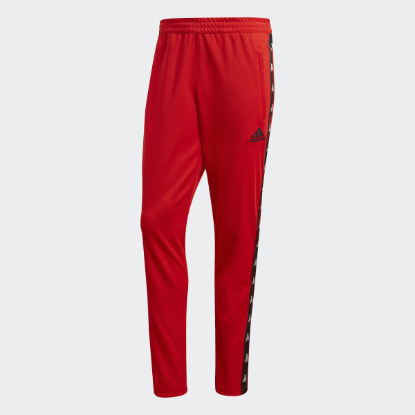 a56cb08094 adidas TAN Tape Clubhouse Pants - Red   adidas US